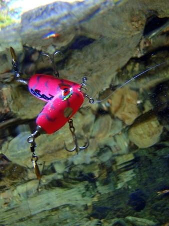 JP30Bの水中姿勢