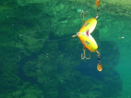 SARAPOP JO30Bの水中姿勢